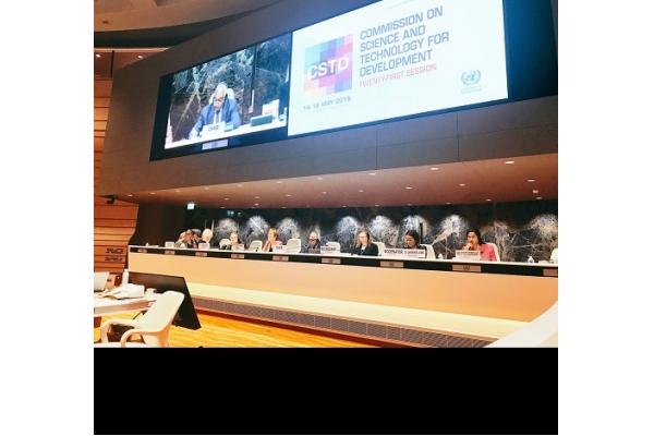 Angola Participa da 21ª Sessão Anual da Comissão das Nações Unidas de Ciência e Tecnologia para o Desenvolvimento, em Genebra, Suíça