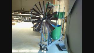 Desenvolvimento e Caracterização de um Sistema Eólico de Bombeio de Água