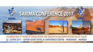 Chamada de Resumos para a Conferência SARIMA 2017: Prazo 28 de Fevereiro
